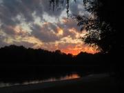Sonnenuntergang am Kuhsee